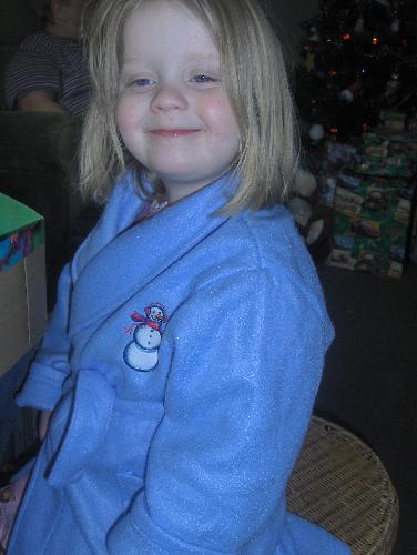 my daughter at christmas - this is my daughter Isabella. The one my sister called fat, ugly and stupid....Im so sad!