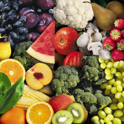 fruits and veges - a good combination