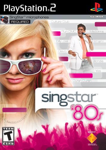 Singstar 80's - Singstar 80's on ps2