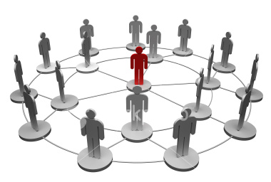 Human network - Human network is a network made up of people where each person is connected to one or more person through some short of medium. They communicate with each other using the medium and accompanist some task which would not be possible by only a single person. They work as a team and help each other.