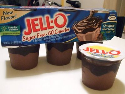 Sugar Free Jell-O - My new trick to replace candy bars.