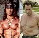 arnold-after effects of body building - lagends condition