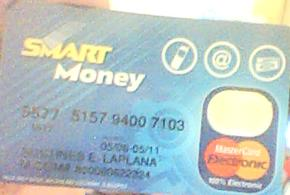 Can i use my Smart Money card to get verified in P - Can i use my Smart Money card to get verified in Paypal?