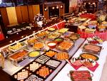 Buffets - Different foods on the Buffet