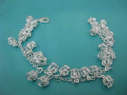 Silver jewellery TB012 - 925 sterling silver bracelet