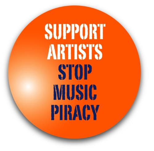 I really want to stop music piracy, unfortunately  - Hello friends, am sure, even you agree to it, and want to leave this free downloading of music, as its a crime. Lets try from today itself.