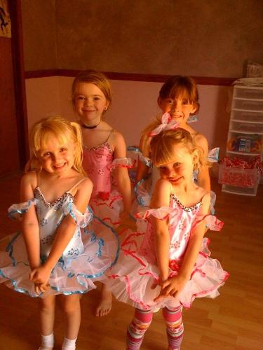 My adorable little dance students in their new cos - My adorable little dance students in their new costumes