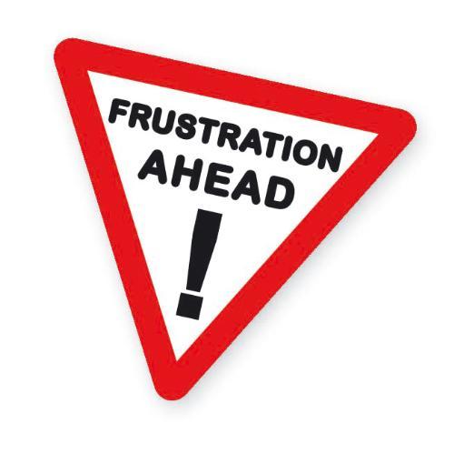 frustration - can u help me