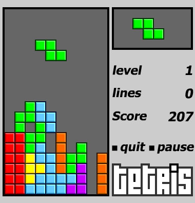 The game tetris - Do you like this game