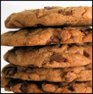 Cookies - Home baked chocolate chip cookies