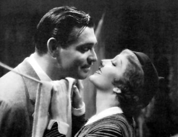 It happened one night - A lovely duet:Clark Gable and Claudette Colbert