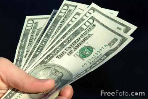 A Dollar - You earn money