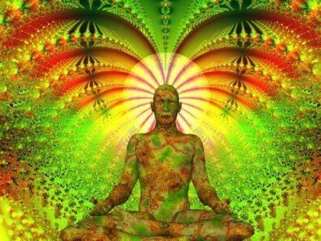 Meditation - A man meditating