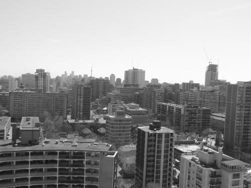 toront.. - view of toronto from the 22nd floor of my old apartment.