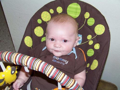 Kurtis my grand son - Kurtis my four month old grand baby