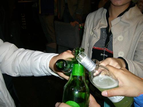 cheers!  - HK, 2008 Christmans night.