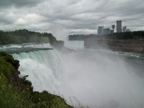 Niagara Falls - Picture of Niagara Falls in July.