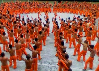 dancing inmates - a photo of one of their monthly performance