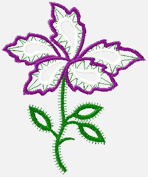 flower desgin  - it is the embriodery desgin which can be used to stcick on the flowers which is used we have in this off this country and this day