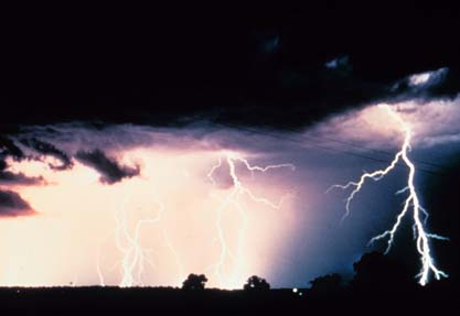 thunderstorms - a heavy thunderstorm!