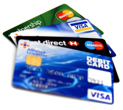 debit and credit cards - i like to have these cards with me always , as i cannot think me without them .