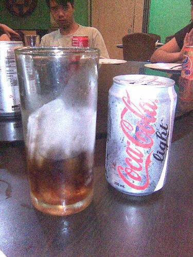 I never had it for a day - This is diet Coke