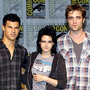 2009 - Taylor, Kristen, Rob at COmic-con 2009