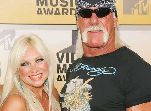 Hulk Hogan and Linda Hogan - Picture of the Hogans in happier times.
