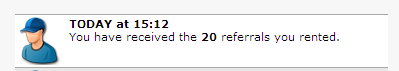 My 2nd 20 Rented Referrals - Yahoo, I got my 2nd 20 rented referrals from Neobux