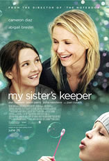 My Sister's Keeper - Movie poster for the movie, My Sister's Keeper