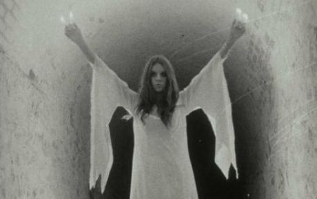 ghost - ghost women in white dress