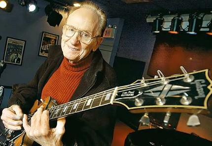 RIP Les Paul - Rest in peace Les Paul, You brought the world some wonderful music & guitars.