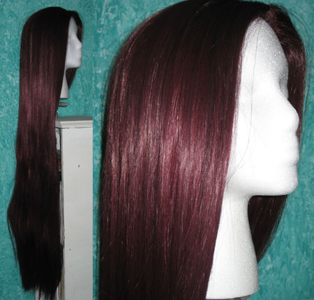 I like burgundy! - This will be the colour that I will be putting on.