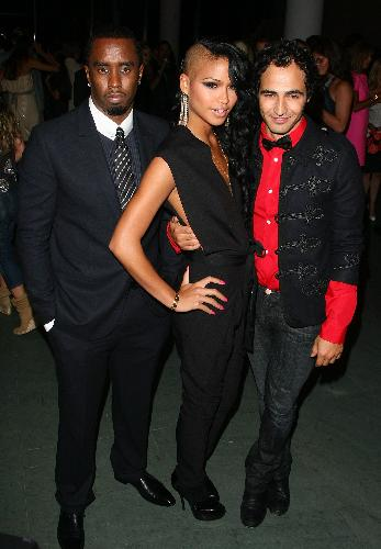 P. Diddy, Cassie, Zac Posen - P. Diddy, Cassie and designer Zac Posen at the a recent outing