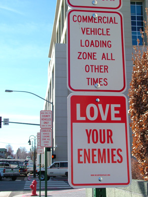Love your Enemies - can you Love your Enemies?