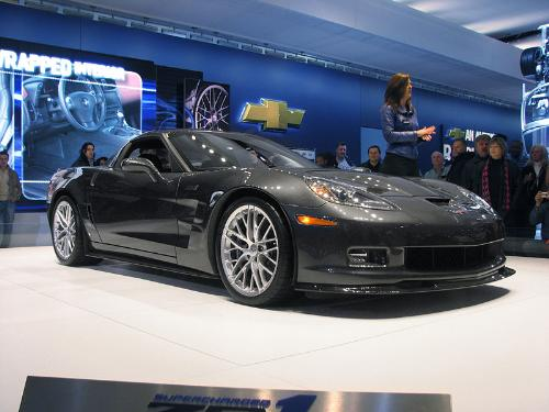 supercharged corvette zr1 - it is the fastest and most powerful corvette ever produced and the most powerful standard production american car ever!