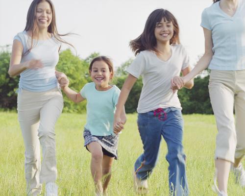 Family - Happy Family enjoyment