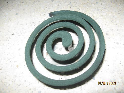 mosquito coil - this is what i light to drive away mosquitoes.
