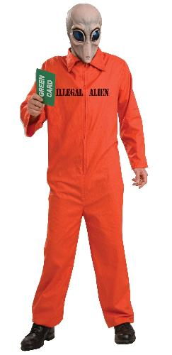Illegal Alien Costume - If you aren't offended by this, you must be a racist!
