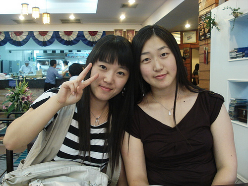 korean girls - i like making friends with korean