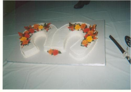 Cake - Delicious Cake Wedding September 26,2009 Mr. and Mrs. Hellcowboy