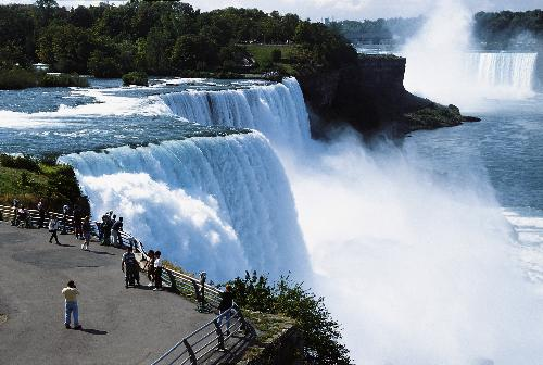 Niagara Falls - This image is spectacular in that you feel that you are there in person looking at the Falls.