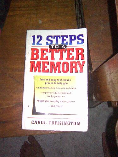 A guide in studying - A book on Memory