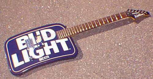 Washburn - Bud Light - Guitar named Bud Light.