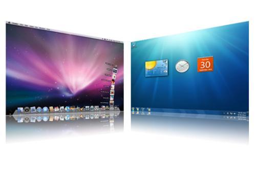 Mac Snow Leopard vs. Windows 7 - war between windows 7 and mac snow leopard
