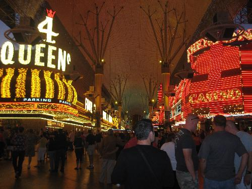 Downtown Las Vegas - It is always fun to go to downtown Las Vegas when in Vegas. We went there on our girl's trip and had a great time.