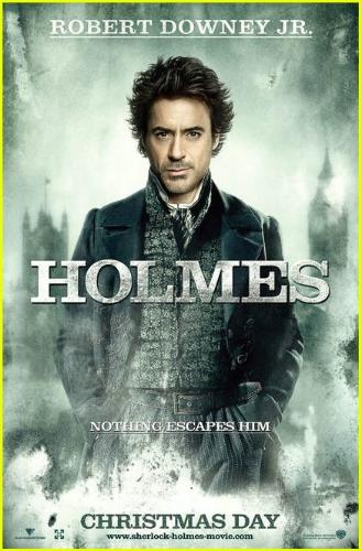 Sherlock Holmes - When I watched a Movie months ago, I saw this interesting trailer by Sherlock Holmes movie. I was so interested that I look forward to it every week until I was tired waiting.