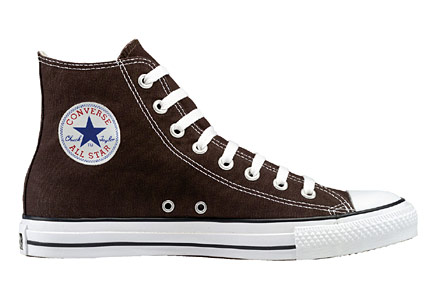 Chuck Taylor - Converse Chuck Taylors. The basic design hasn't change since the 50s. Its a classic show that stood the test of time.