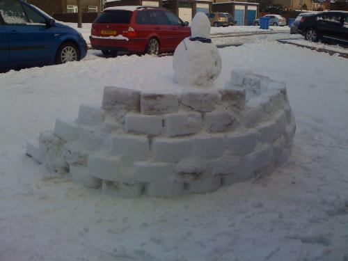 igloo walla - benny128 house, newcastle uk, 06-01-2010