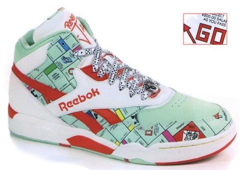 Reebok - Reebok Reverse Monopoly Shoes.